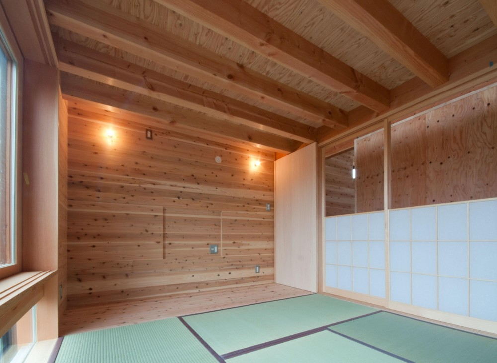 神戸町の家 (和室)