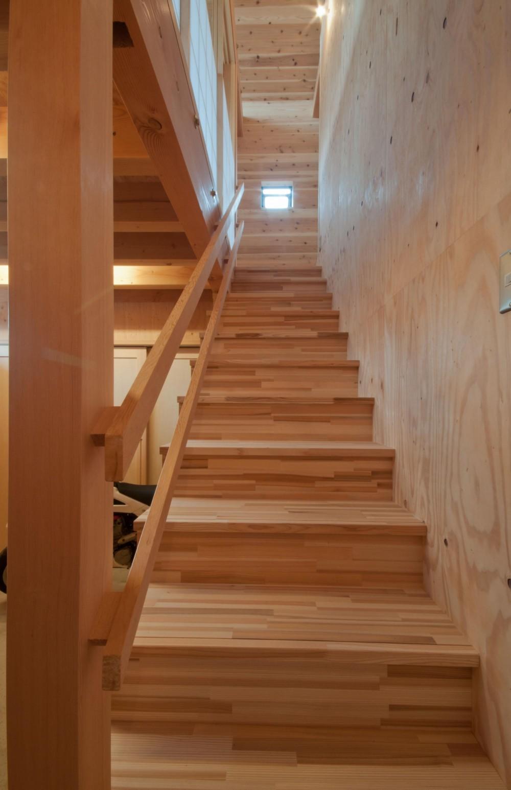 神戸町の家 (階段)