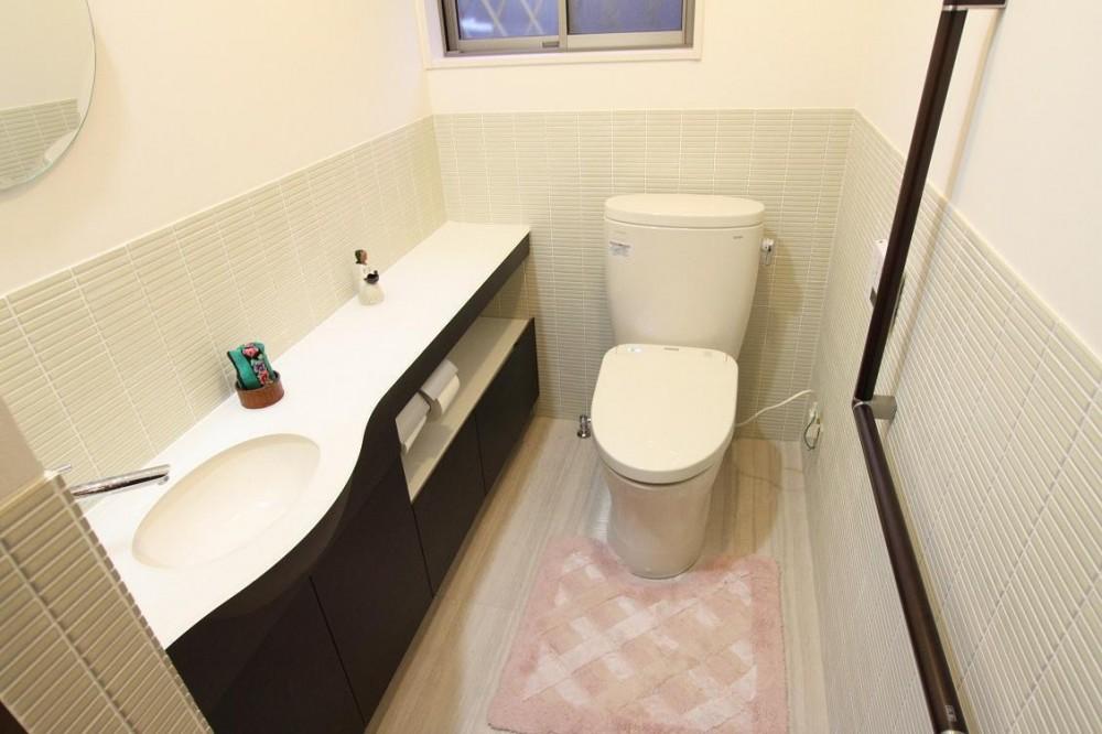 茶室のある家 (トイレ)