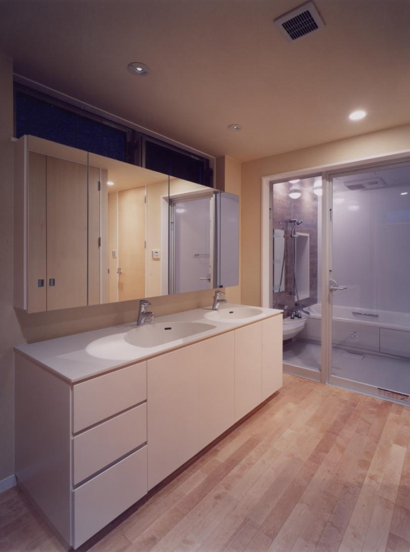 中村の家の部屋 洗面室