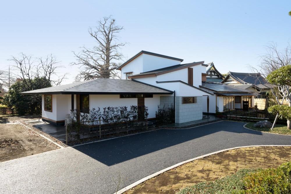 和に合う、ミッドセンチュリー家具との住空間 (外観 北東側)