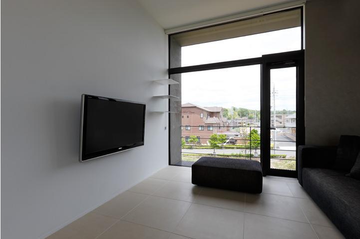 鳴海の家の写真 ベランダと一体感のある2階リビング