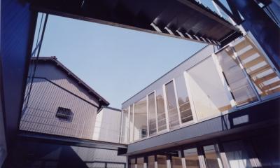 中村の家 (日当たりのいい中庭)