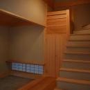 Mさんの家の写真 階段