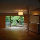 Mさんの家の写真 開放的なリビングダイニングキッチン