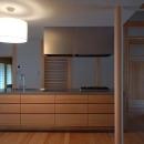 Mさんの家の写真 アイランドキッチン