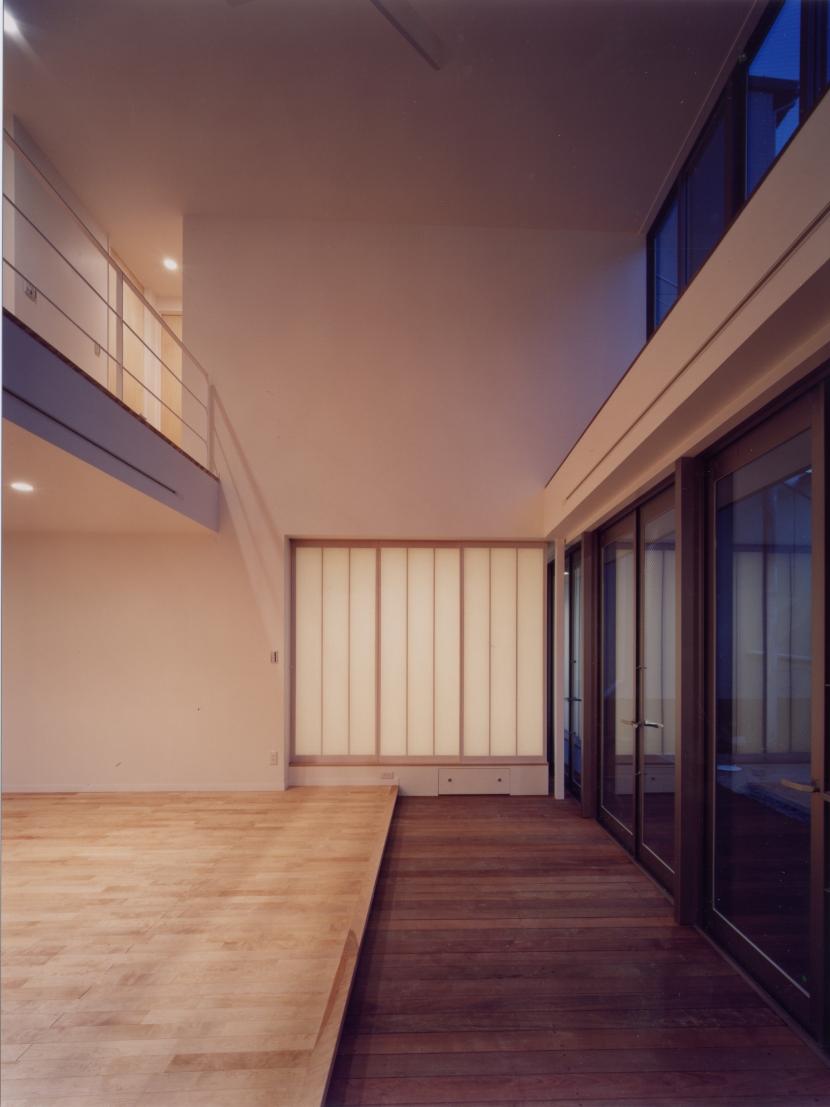 中村の家の部屋 リビング・ダイニング02