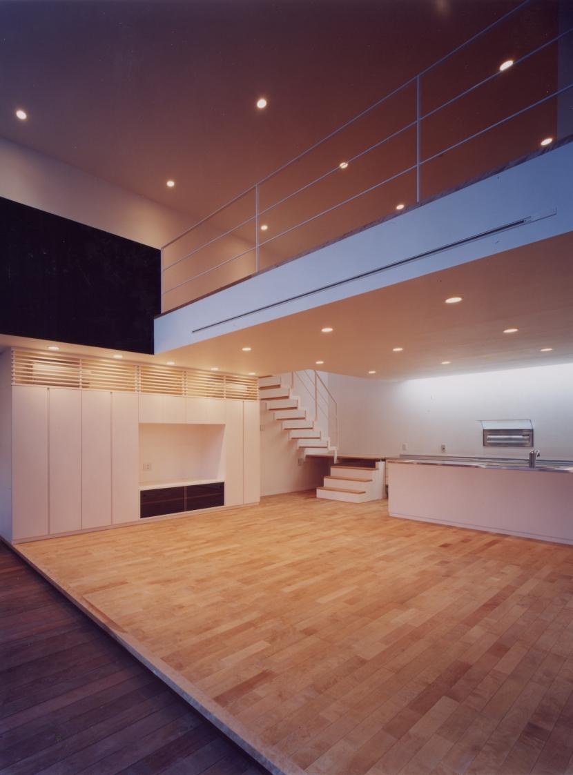 中村の家の部屋 リビング・ダイニング01