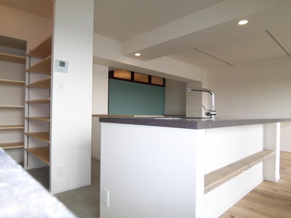 F様邸 (Kitchen)