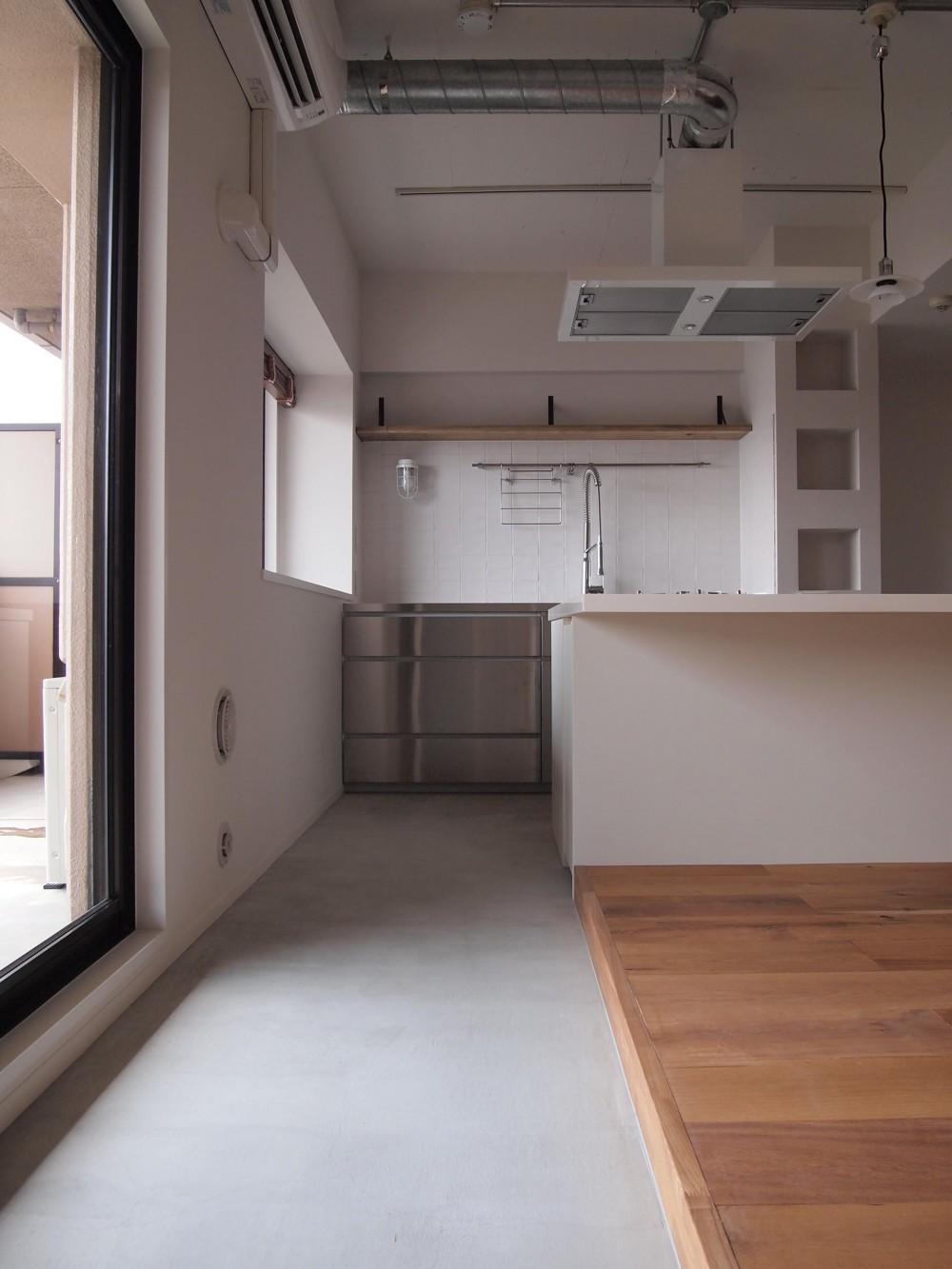 I様邸 (Kitchen)