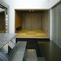 大林の家 (玄関土間と小上がりの客間・和室)
