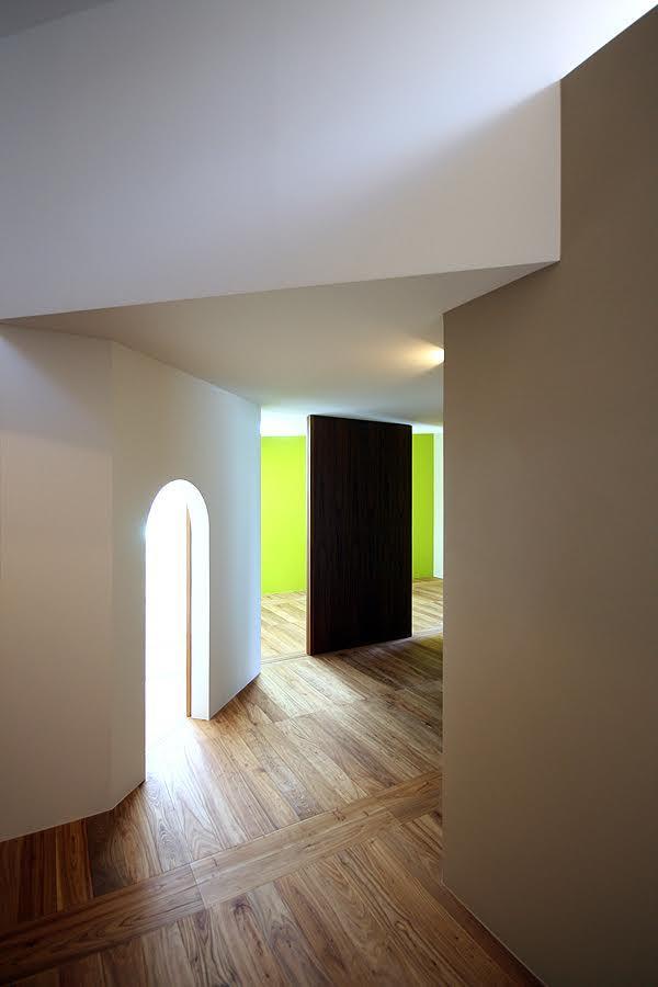 伊予三島の家の写真 コリドール
