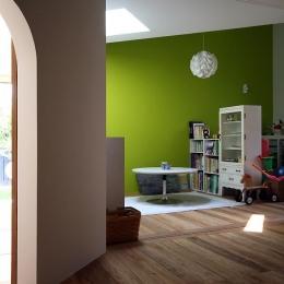 伊予三島の家 (子供室)