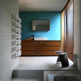 伊予三島の家 (バスルーム)