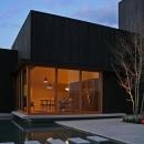 伊予三島の家の写真 外観ー夜景