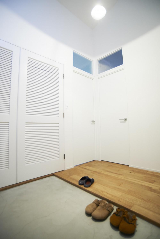 団地×プレーン (玄関)