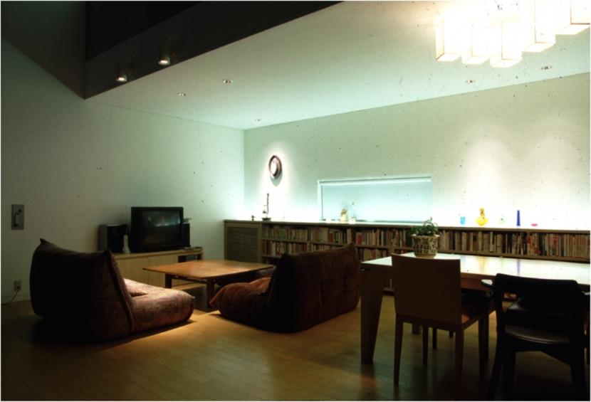 デザイナー:近田玲子デザイン事務所 高永祥「巣鴨の二世帯住宅」