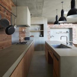 キッチン (森町の家)