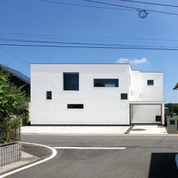 群馬県太田市 House M -3つのリビング- (外観)