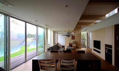 群馬県太田市 House M -3つのリビング-