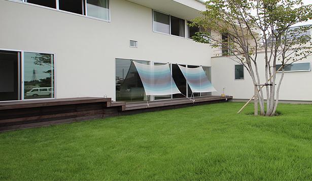 群馬県太田市 House M -3つのリビング- (外リビング)