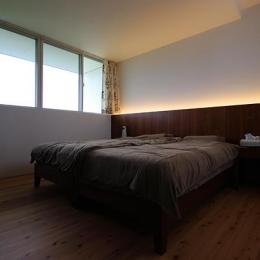 群馬県太田市 House M -3つのリビング- (ベッドルーム)