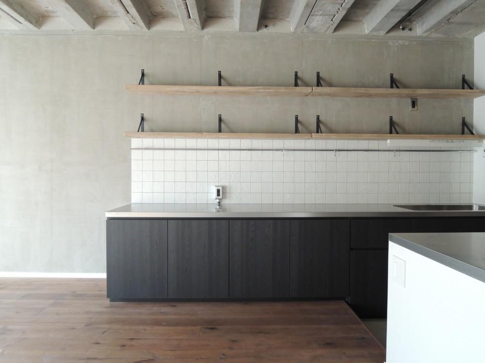 N様邸 (Kitchen)