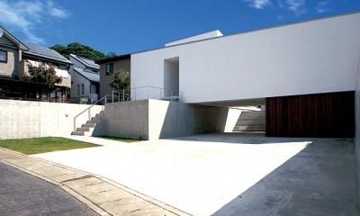 高さを抑えた平屋|群馬県太田市 House OG -風の抜ける中庭-