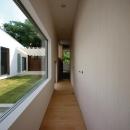 小島光晴の住宅事例「群馬県太田市 House OG -風の抜ける中庭-」