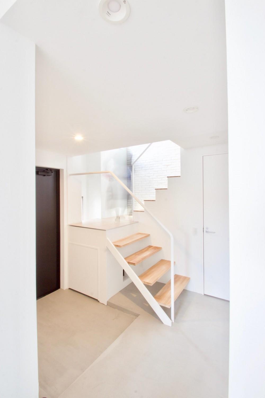 猫の家 (階段)