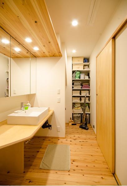 K邸の写真 洗面室
