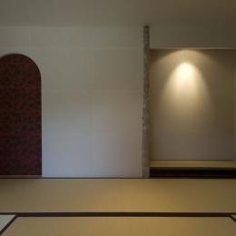 アジアンリゾートを自分の家に/風の家 (和室)