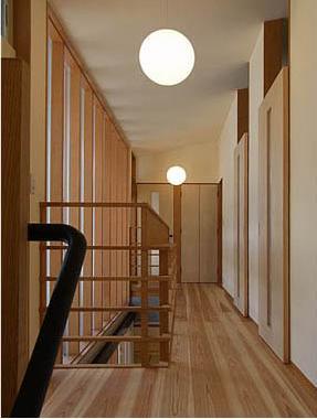 A邸の写真 廊下