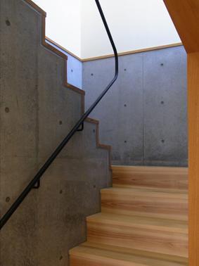 A邸の写真 階段