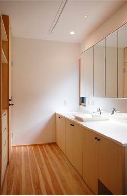 A邸の写真 洗面室