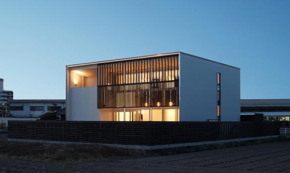 K邸の写真 外観-ライトアップ