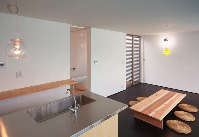 水庭の家の部屋 LDK