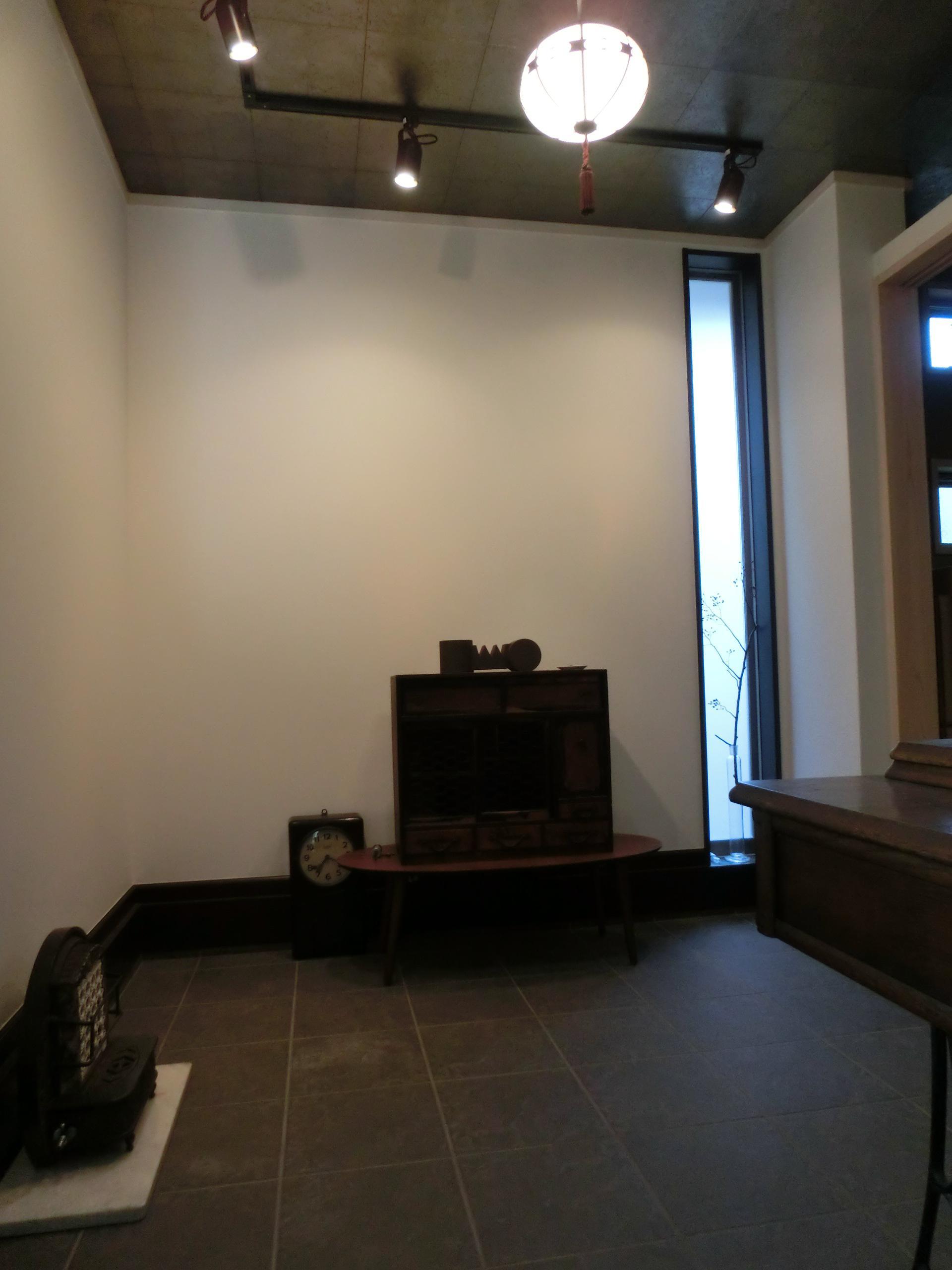 『手わざのコダワリ』と新しい建築技術の融合:東京都杉並区K様邸の写真 1階応接室