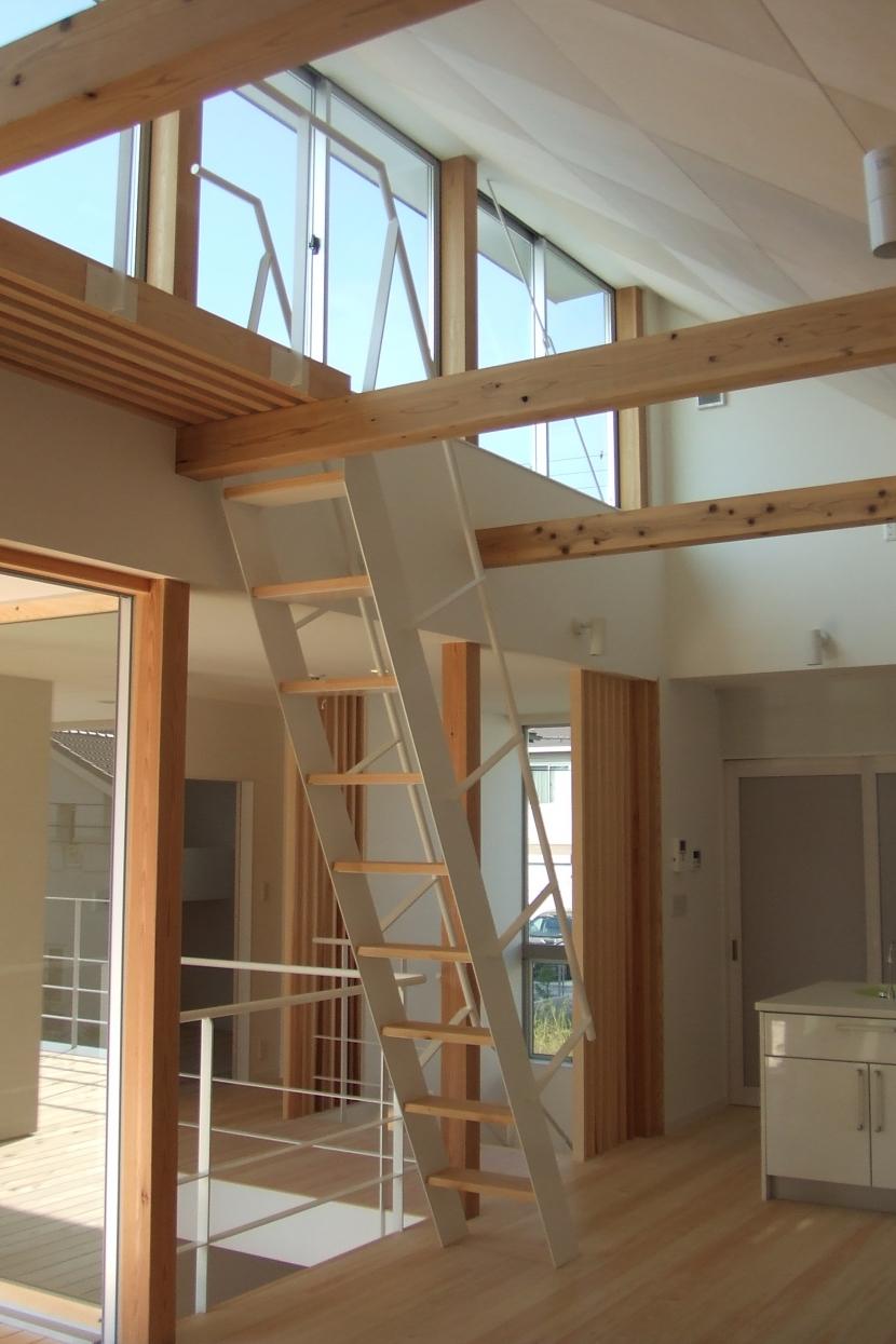 おゆみ野の家の部屋 ダイニング-ハイサイド窓