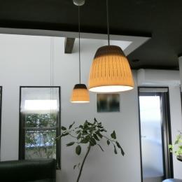 『手わざのコダワリ』と新しい建築技術の融合:東京都杉並区K様邸 (2階ダイニングテーブルのコードペンダント照明)