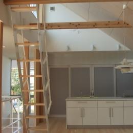 おゆみ野の家 (キッチン)