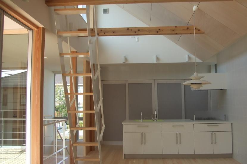 おゆみ野の家の部屋 キッチン