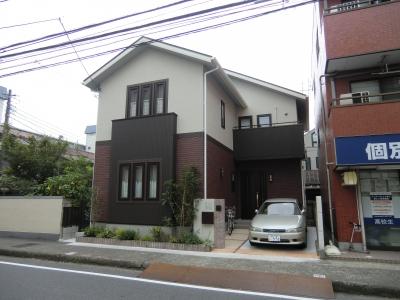 外観 (オール電化住宅:千葉県市川市S様邸)