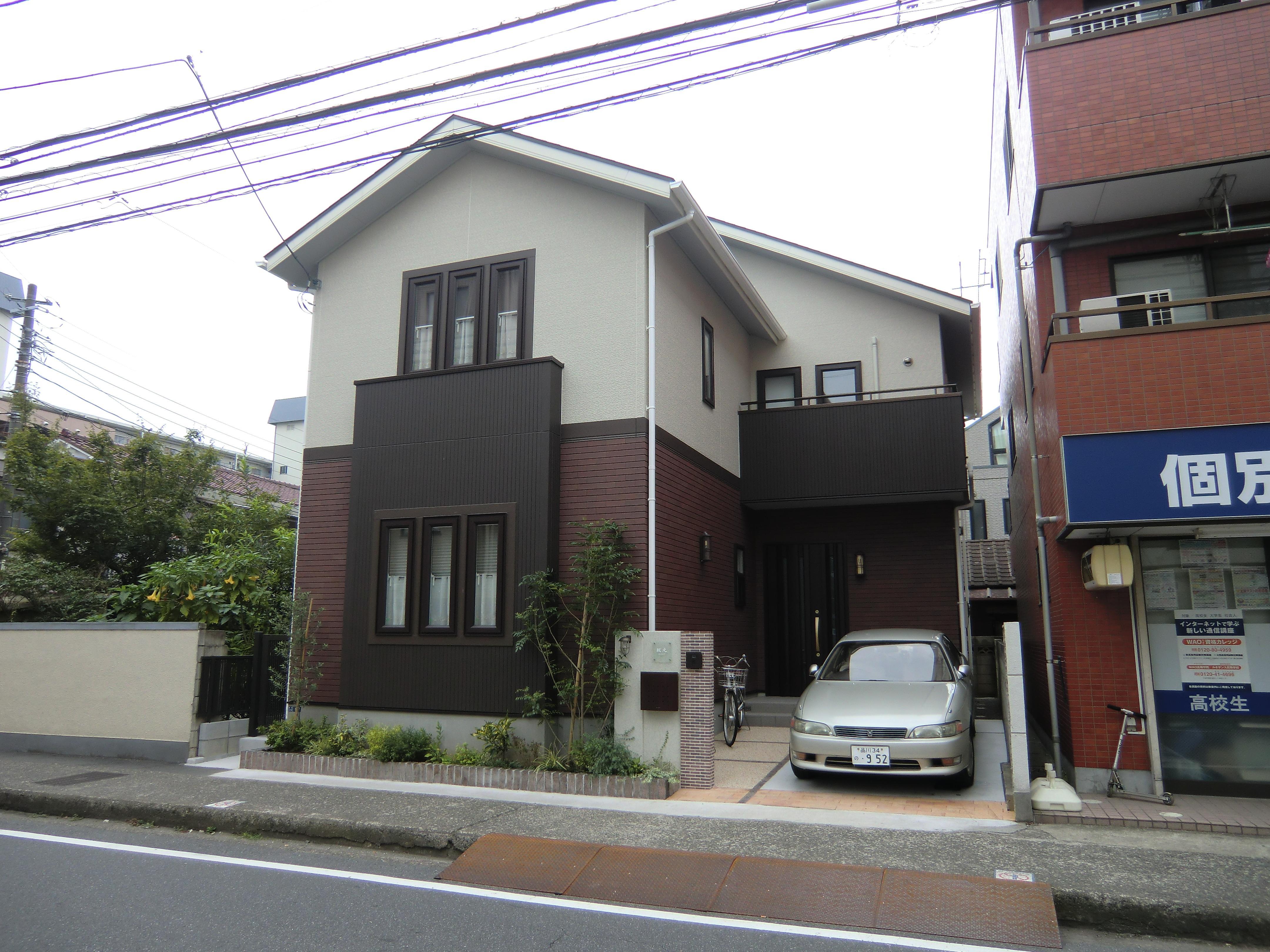 オール電化住宅:千葉県市川市S様邸の写真 外観