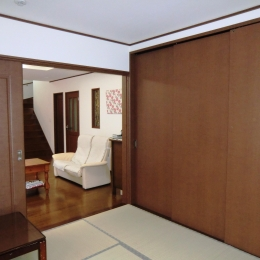 和室 (オール電化住宅:千葉県市川市S様邸)