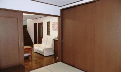 オール電化住宅:千葉県市川市S様邸 (和室)