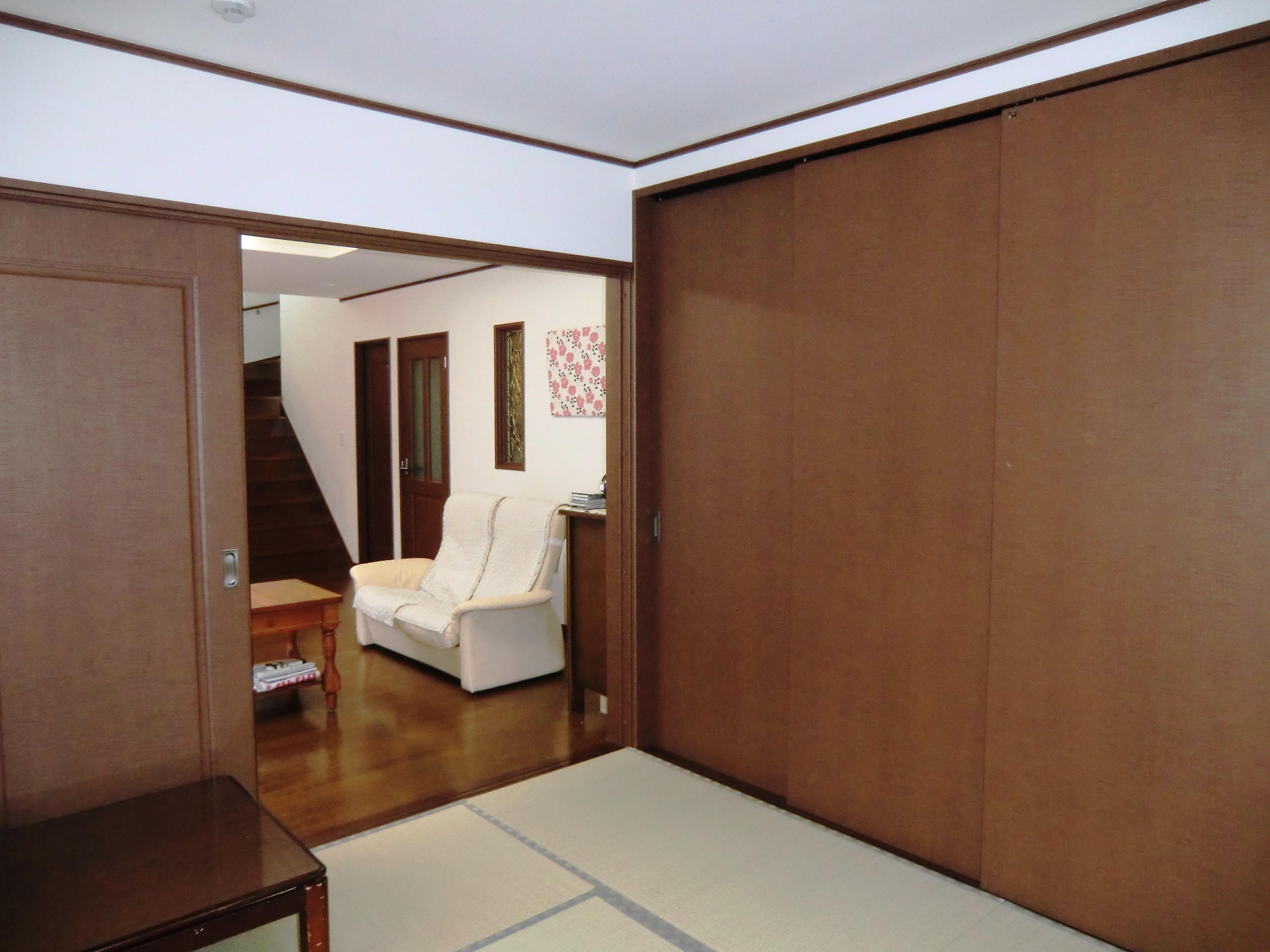 オール電化住宅:千葉県市川市S様邸の写真 和室