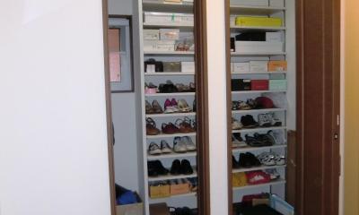 玄関収納|オール電化住宅:千葉県市川市S様邸