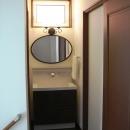 オール電化住宅:千葉県市川市S様邸の写真 洗面室