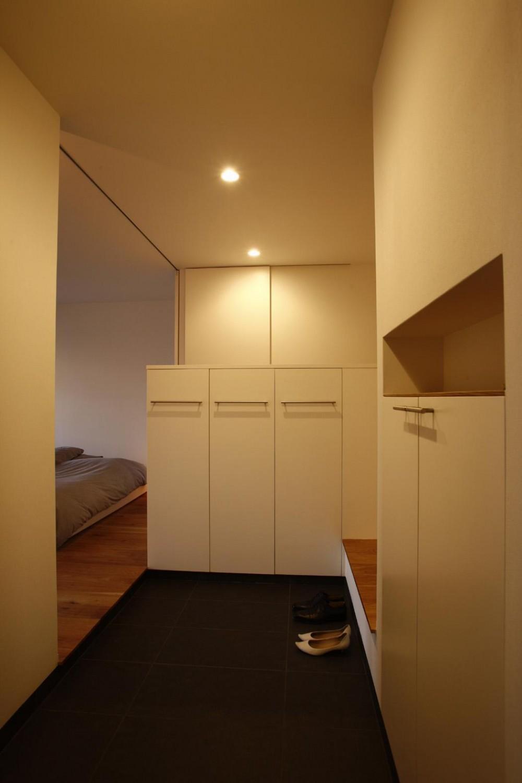 都島のマンションリフォーム (玄関)